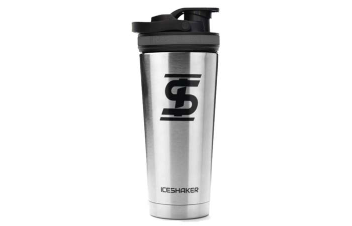 Ice Shaker Stainless Steel Insulated Insulated Bottle