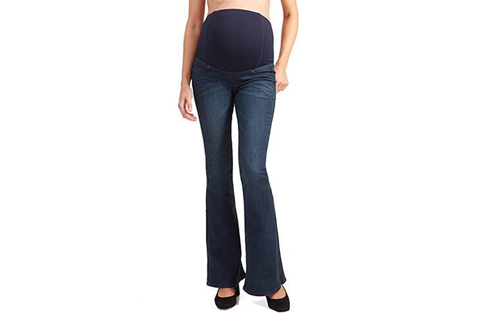 Ingrid & Isabel Womens Maternity Flare Jeans