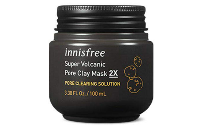 Insfree super volcanic pore clay mask