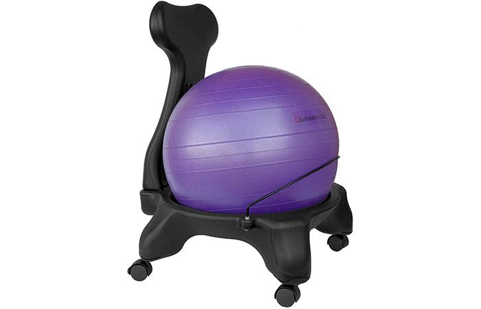 Isokinetics Inc. Balance Exercise Ball Chair