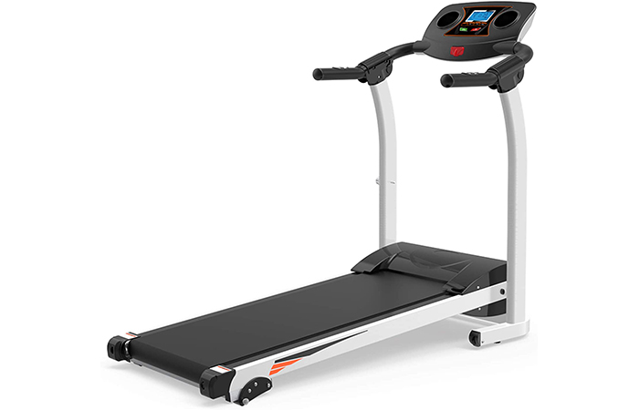 Julyfox Home Folding Treadmill with Incline