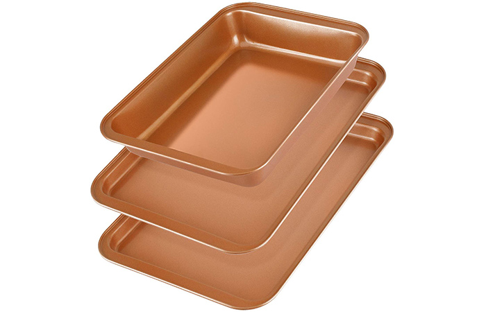 KeShi Non-Stick Baking Sheet Trays