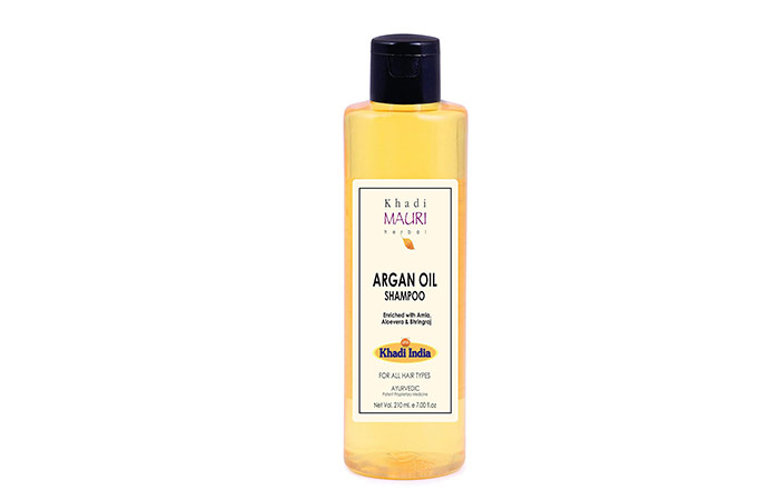 Khadi Mori Herbal Argon Oil Shampoo