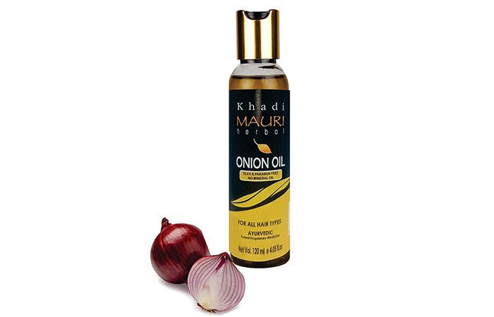 Khadi Mori Herbal Onion Oil