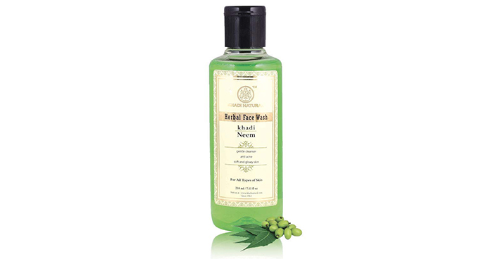 Khadi Natural Ayurvedic Neem Face Wash