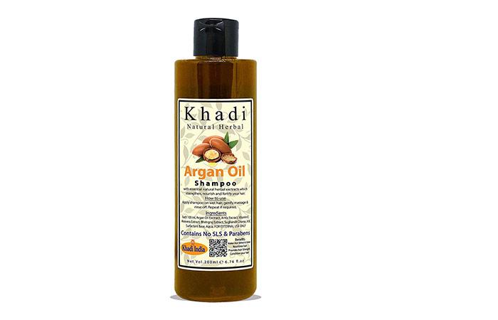 Khadi Natural Herbal Moroccan Argon Hair Shampoo