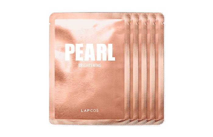 LAPCOS Pearl Brightening Sheet Mask