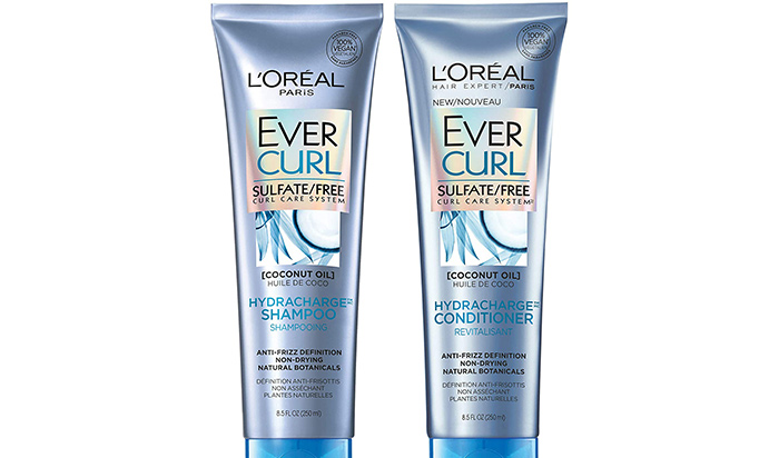 L'Oréal Paris EverCurl Shampoo And Conditioner
