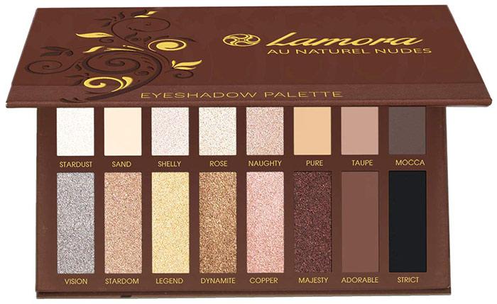 Lamora Au Naturel Smokey Eyeshadow Palette
