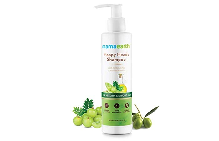 Mamaarth Happy Heads Natural Protein Hair Shampoo