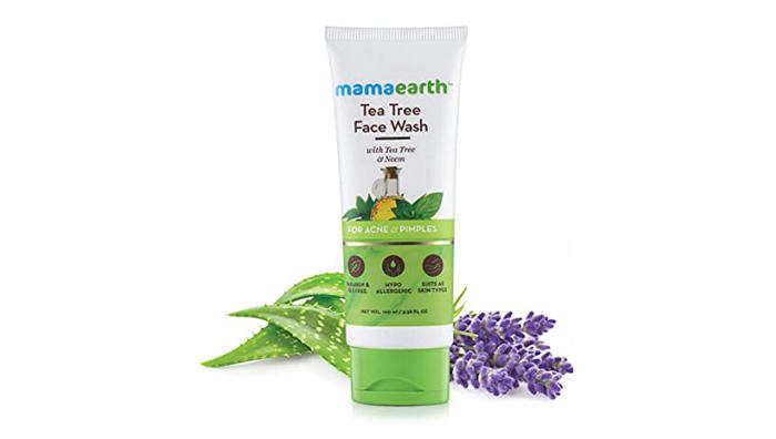 Mamaarth Tea Tree Natural Face Wash