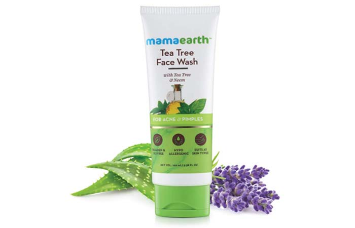 Mamaearth Tea Tree Natural Face Wash for Acne Pimples Wash