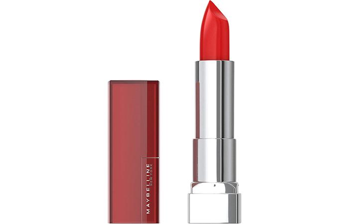 Maybelline New York Color Sensational Lipstick – Red Revival