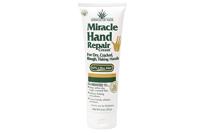 Miracle Of Aloe Hand Repair Cream