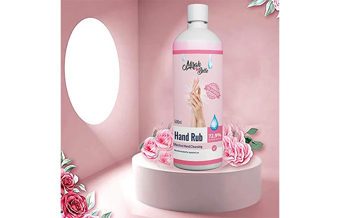Mirah Belle - Hand Rub Sanitizer