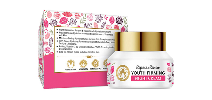 Mom & World Repair + Renew Firming Night Cream