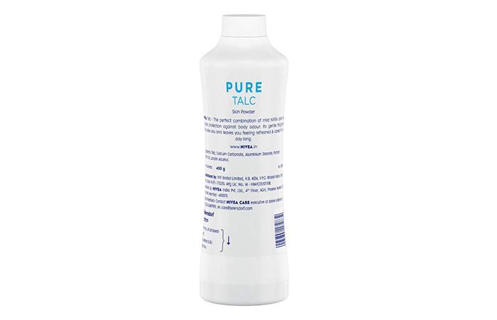 NIVEA Talc, Pure Talcum Powder