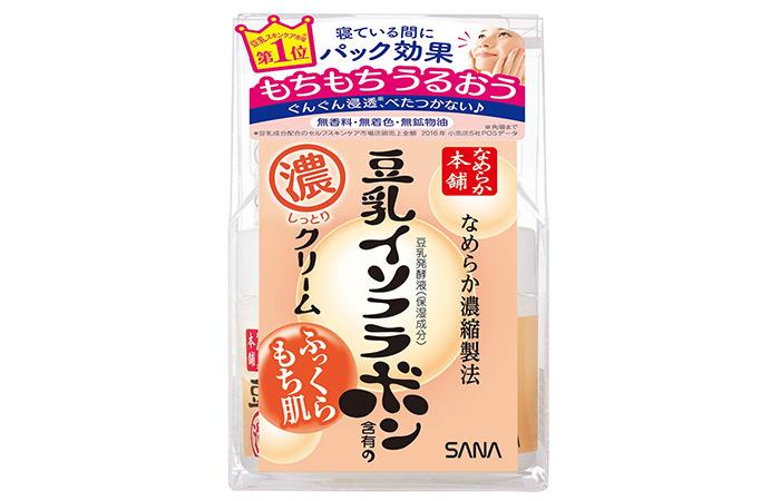Nameraka Honpo Sana Isoflavone Facial Cream