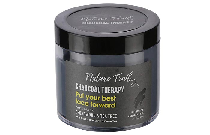 Natural Trail Charcoal Therapy Face Mask