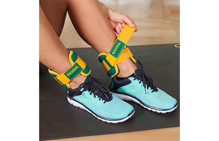 Nayoya Adjustable Ankle Weights