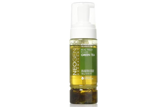 Neogen Dermalogy Real Fresh Foam Green Tea Cleanser