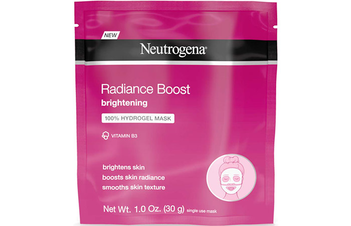 Neutrogena Radiance Boost Brightening Hydrogel Mask