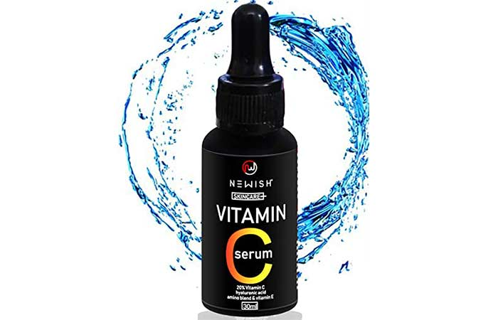 New vitamin C serum for face pigmentation and oily skin for men and women