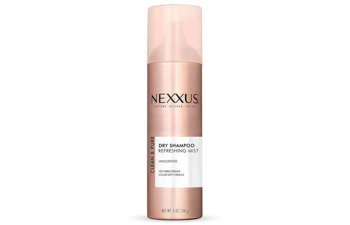 Nexxus Clean Pure Unscented Dry Shampoo