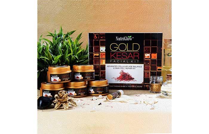 Nutriglow Gold Saffron Facial Kit