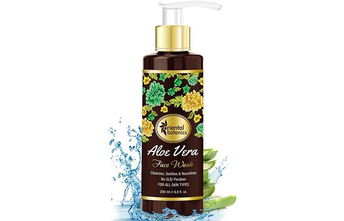 Oriental Botanics Aloe Vera Face Wash