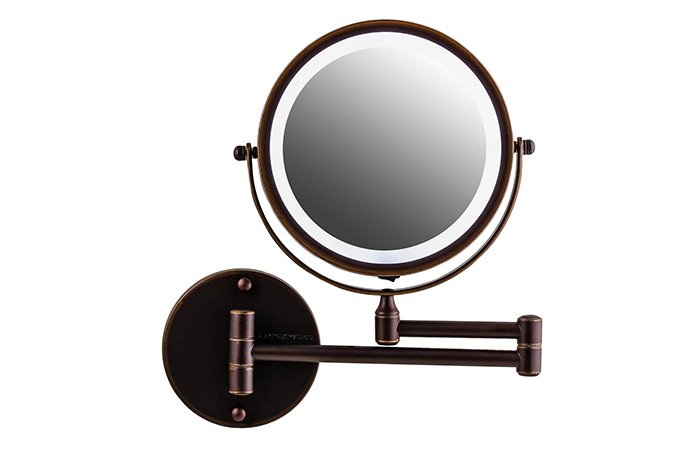 Ovente Wall-Mounted Magnifying Mirror