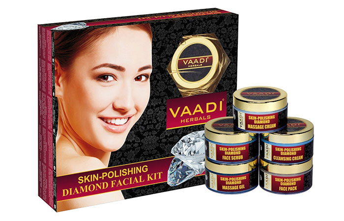 Plain Herbals Skin Polishing Diamond Facial Kit