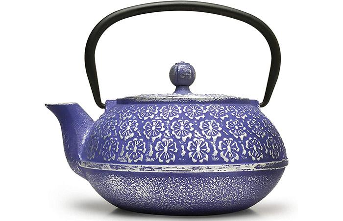 Primula Japanese Tetsubin Cast Iron Teapot