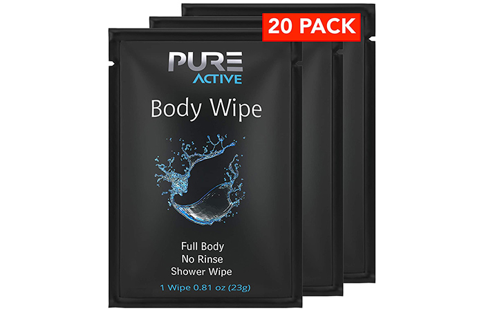 Pure Active Body Wipes