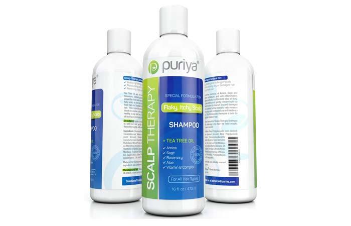 Puriya Sulfate Free Tea Tree Oil Shampoo