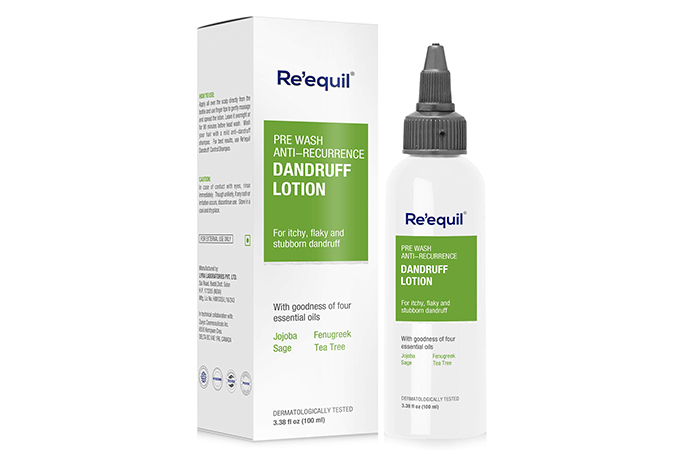 Requil Pre Wash Anti Recreation Dandruff Lotion