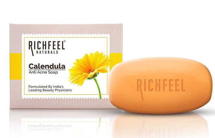 Richfeel Calendula Acne Soap