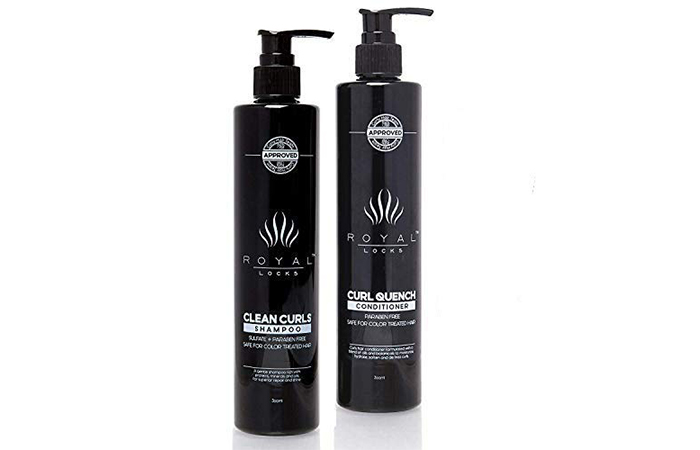 Royal Locks Curl Quench Shampoo And Conditioner