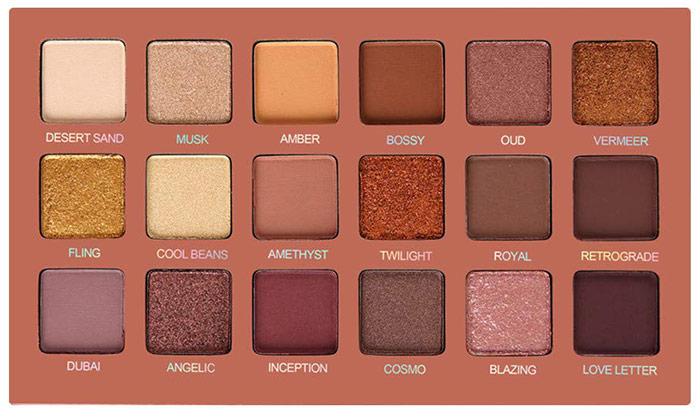 SEPROFE Eyeshadow Palette