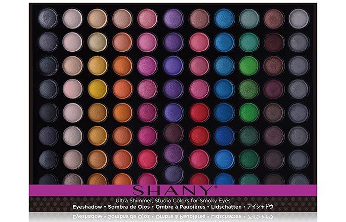 SHANY Eyeshadow Palette Ultra Shimmer Studio Colors For Smokey Eyes