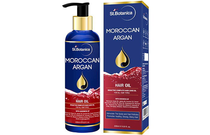 ST Botanica Moroccan Organ Hair Oil