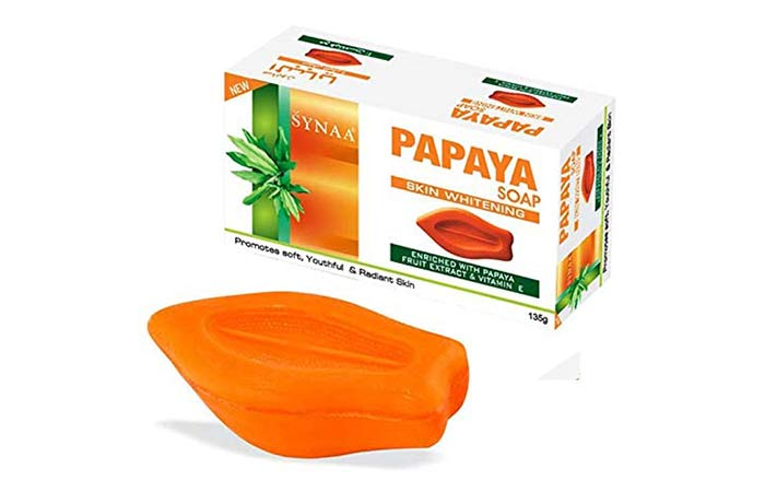 Saina Papaya Soap