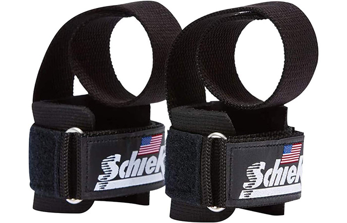 Schiek Sports Deluxe Power Lifting Straps