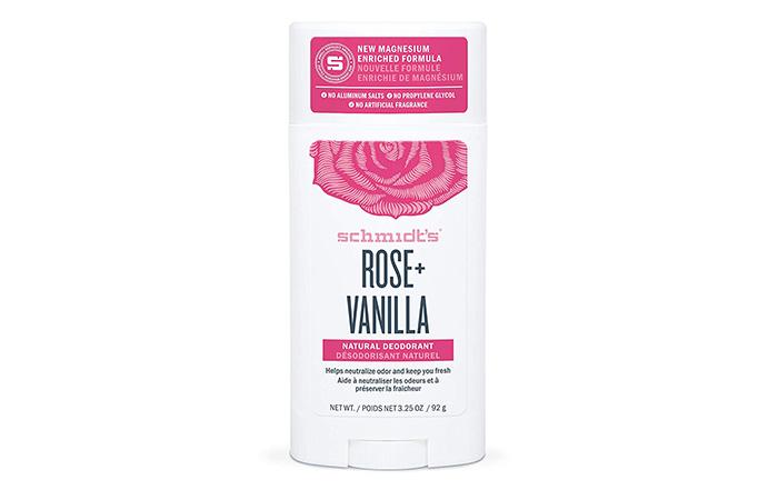 Schmidt's Rose + Vanilla Deodorant