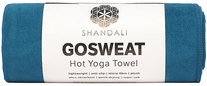 Shandali GoSweat Non-Slip Hot Yoga Towel