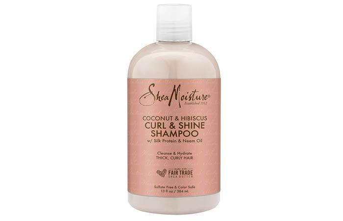 Shia Moisture Organic Coconut Hibiscus Curl Shine Shampoo