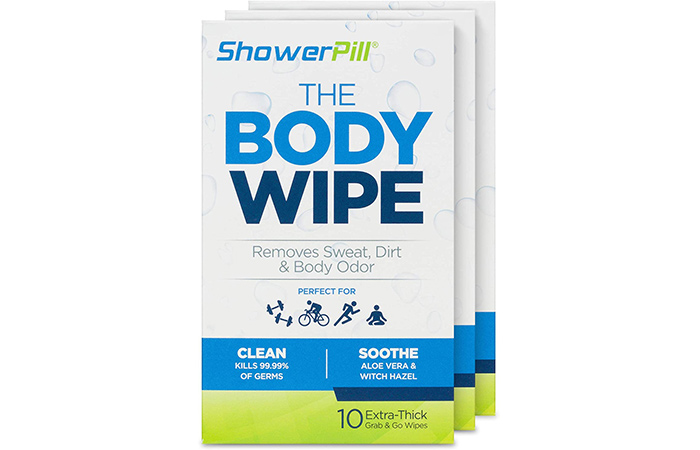ShowerPill The Body Wipe