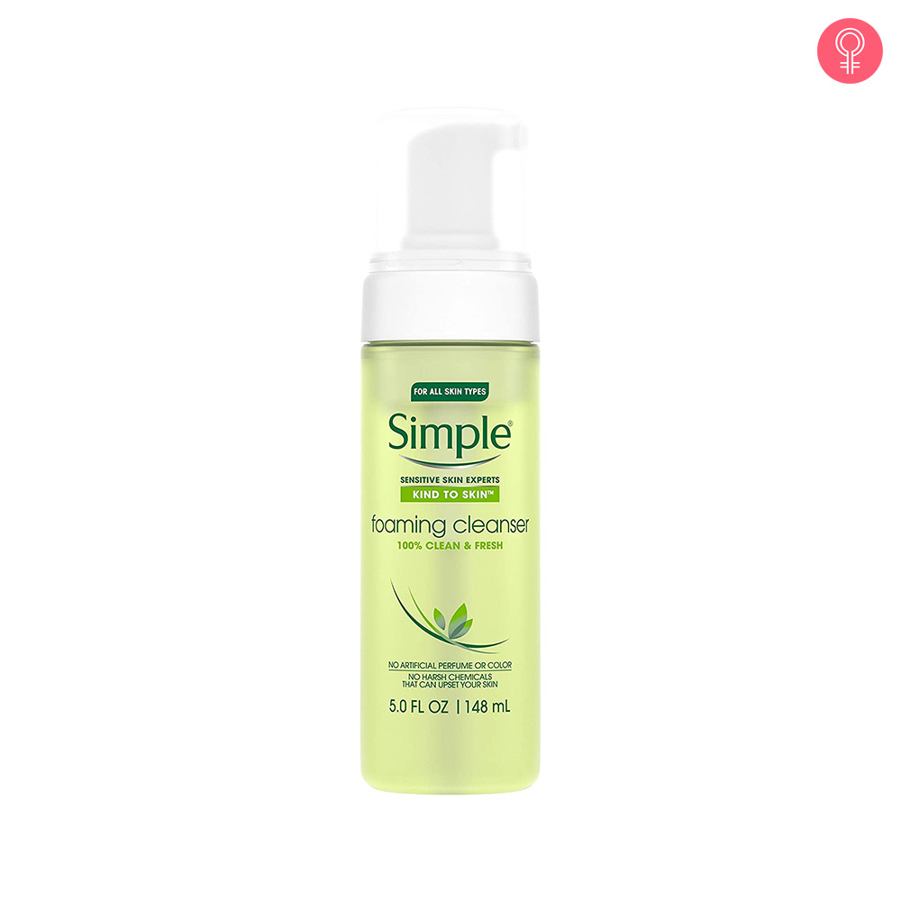 Simple Sensitive Skin Experts Foaming Cleanser