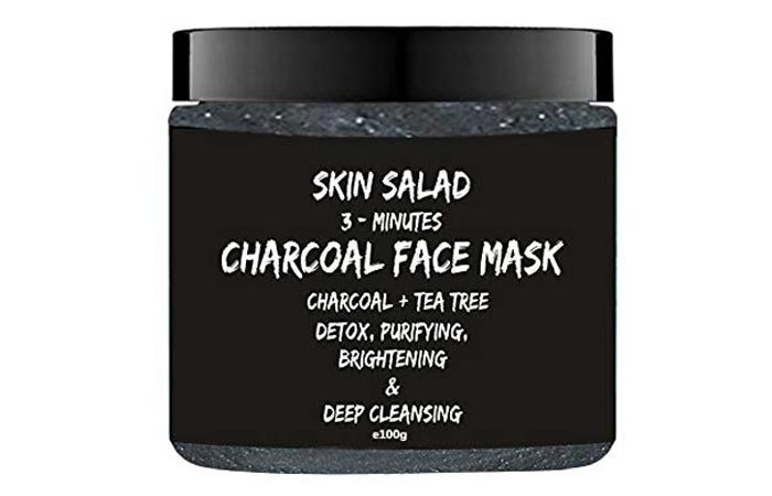 Skin Salad Activated Charcoal Face Mask