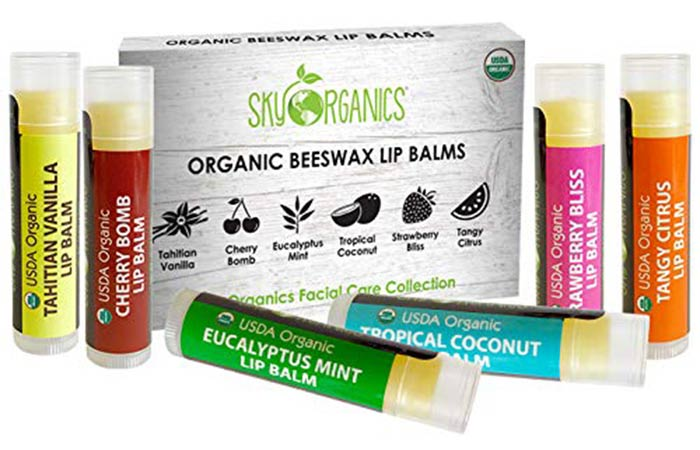 Sky Organic Lip Balm